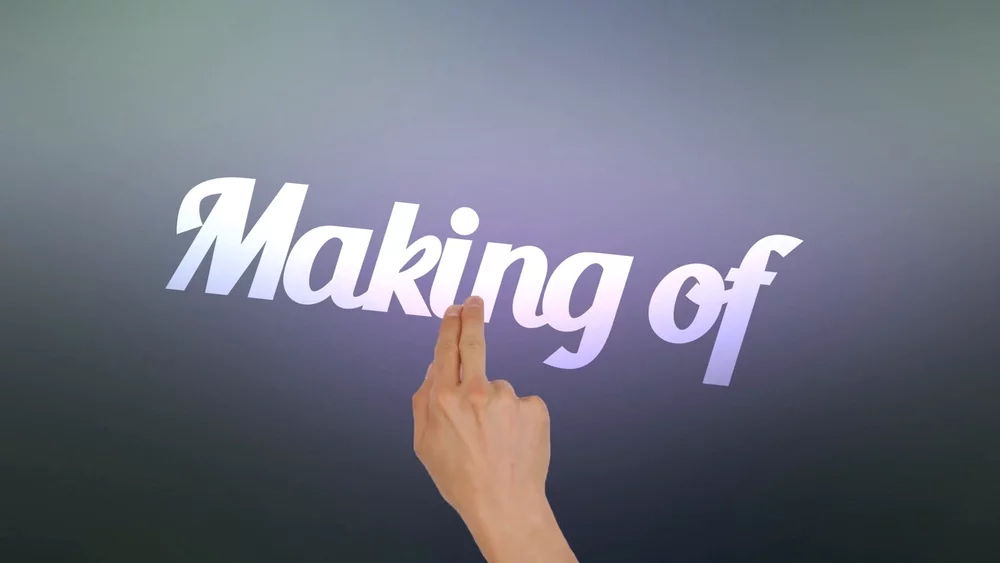 """An """"old-fashioned"""" motion design – Making of"""