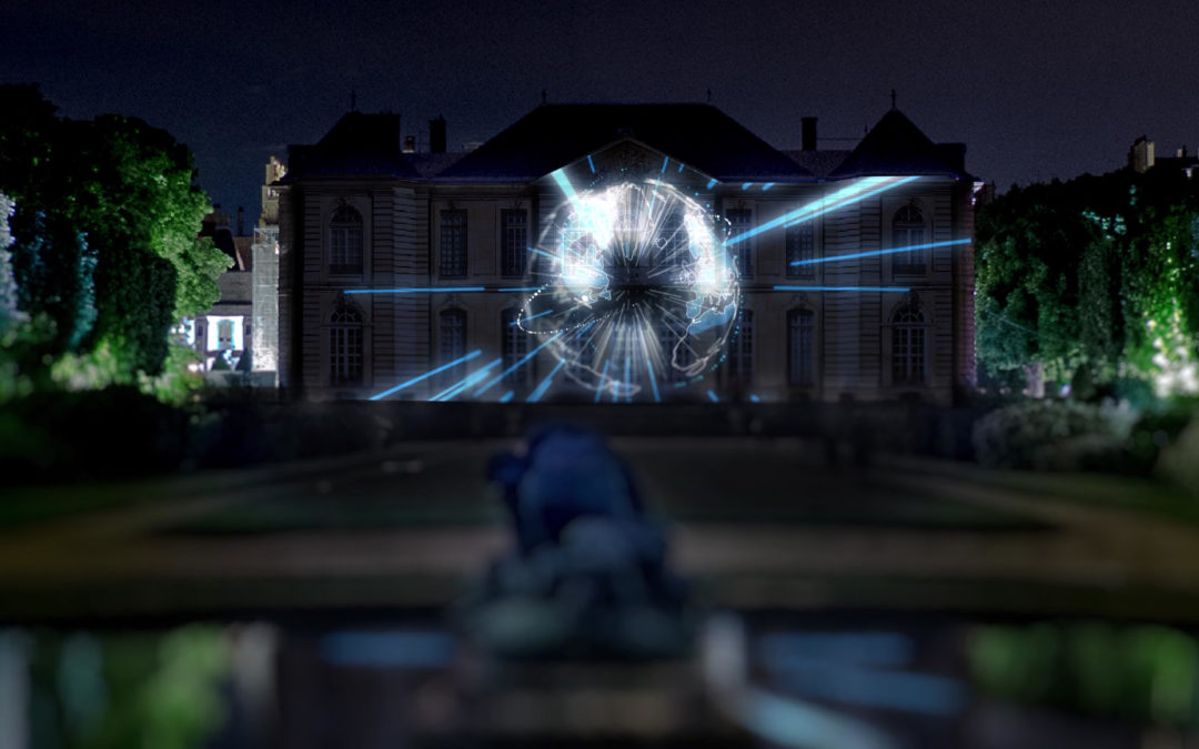 3D motion design and mapping in Paris at the Rodin Museum